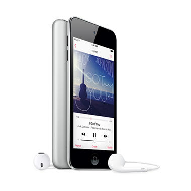 iPod Touch 16GB 5th Generation - Black and Silver