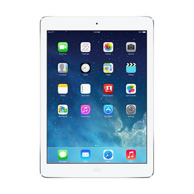 iPad Air 64GB Silver w/ W-Fi + Cellular - AT&T