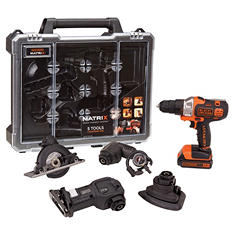 Black+Decker MATRIX 5-Tool Quick Connect System