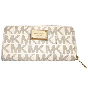 Michael Kors Jet Set Zip Around Wallet