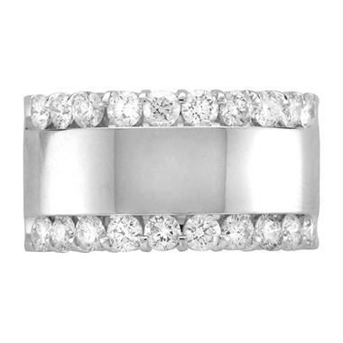 1.50 ct. t.w. Diamond Channel Band in 14k White Gold (H-I, I1)