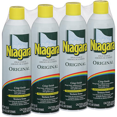 Niagara® Original Spray Starch - 20 oz. - 4 ct.