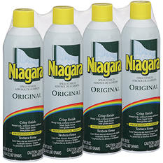 Niagara Original Spray Starch - 20 oz. - 4 ct.