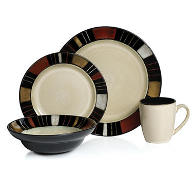 16PC DINNERWARE SET M BY MIKASA