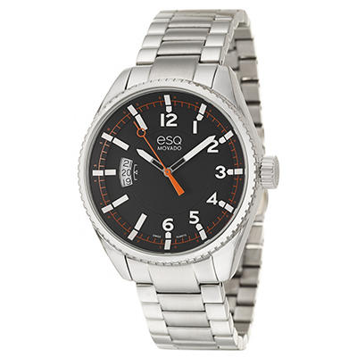 ESQ by Movado Catalyst Watch for Men With Black Dial