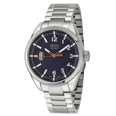 ESQ by Movado Catalyst Watch for Men With Navy Dial