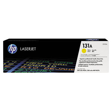 HP 131A Toner Cartridge - Various Colors, 1800 Page Yield