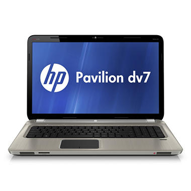 "HP Pavilion dv7 Laptop Intel Core i7-2630QM, 1.5TB, 17.3"" - Blu-ray ROM"