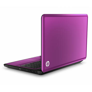 "HP g6 Laptop Intel Pentium P6200, 500GB, 15.6"" - Luminous Rose"