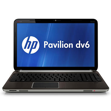 HP Pavilion dv6 Entertainment Laptop Intel Core i5-2430M, 750GB, 15.6