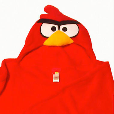 Angry Birds Hooded Wrap for Kids