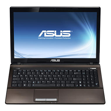 "ASUS X53E Laptop Intel Core i5-2450M, 750GB, 15.6"" - Espresso with Windows 8 Pro Upgrade Option"