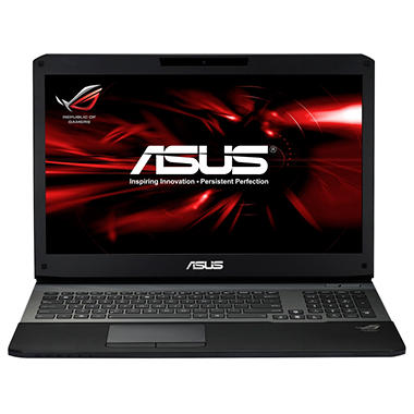 ASUS G75VW-DH72 Laptop Computer, Intel Core i7-3630QM, 16GB Memory 750GB Hard Drive, 17.3