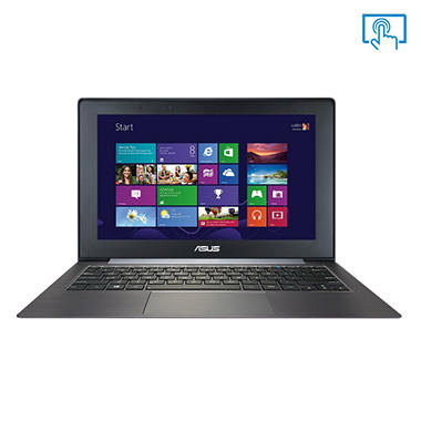 "ASUS Taichi21-DH71 Dual Screen Laptop/Tablet Hybrid Computer, Intel Core i7-3517U, 4GB Memory, 256G Hard Drive, 11.6"" Touch Screen"