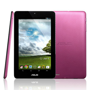 "ASUS MeMO Pad 7"" 16GB Tablet - White or Pink"