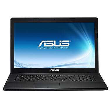"ASUS X75A-DS31 17.3"" Laptop Computer, Intel Core i3-2370M, 4GB Memory, 500GB Hard Drive"