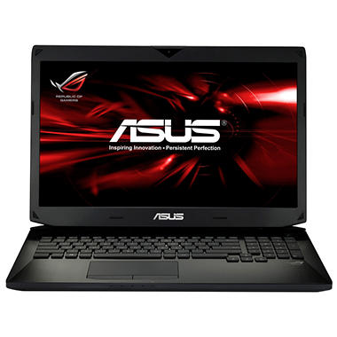 "ASUS 17.3"" Laptop Computer, Intel Core i7-4700HQ, 12GB Memory, 750GB Hard Drive"