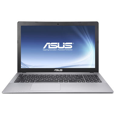 "ASUS 15.6"" Laptop Computer, Intel Core i3-3217U, 6GB Memory, 500GB Hard Drive"