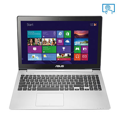 "ASUS V551LA-DH51T 15.6"" Touchscreen Laptop Computer, Intel Core i5-4200U, 8GB Memory, 750GB Hard Drive"