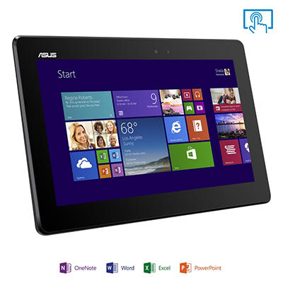 "10.1"" ASUS T100TA-C11 Transformer 2-in-1 Laptop - Intel Quad Core Processor, 64GB Hard Drive"
