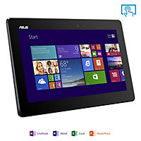 "ASUS T100TA-C11-GR 10.1"" Touchscreen Transformer Laptop Computer, Quad Core Baytrail-T Z3740, 2GB Memory, 64GB Hard Drive w/ Office Home and Student"