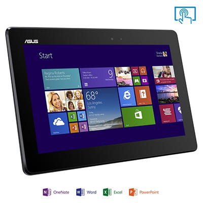 "10.1"" ASUS T100TA Transformer 2-in-1 Laptop - Intel Quad Core Processor, 64GB Hard Drive"