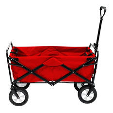 Bright Red Folding Wagon