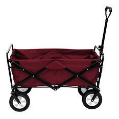 Garnet Red Folding Wagon