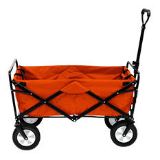 Orange Folding Wagon