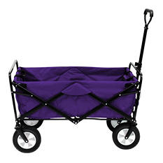 Purple Folding Wagon