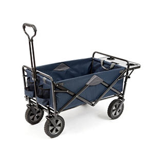 Folding Wagon with Table in Assorted Colors