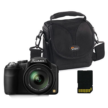 Lumix DMC-FZ200 Digital Camera Bundle