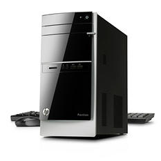 HP 500-490 Desktop Computer, Intel Core i3-4130, 4GB Memory, 1TB Hard Drive, with McAfee Anti-Virus Plus
