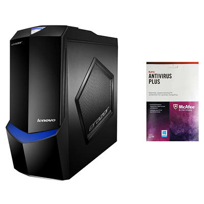 Lenovo X510-KIT1 Desktop with McAfee Antivirus, Intel Core i7-4770K , 16GB Memory, 2TB Hard Drive