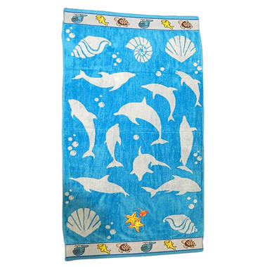 "Kids Beach Towel - Marine Life - 30"" x 60"""