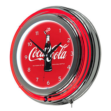 Coca Cola Neon Clock Assorted Styles Sam s Club #2: A $img size 380x380$