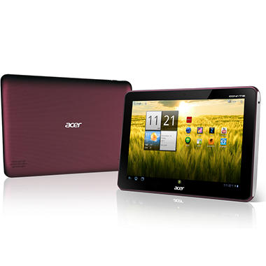 "Acer A200 16GB 10.1"" Tablet - Red"