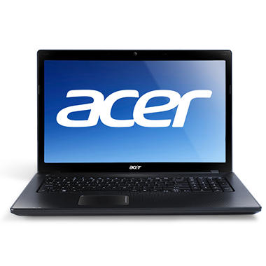 "Acer® Aspire AS7250 Laptop AMD DC E-450, 500GB, 17.3"" - Black"