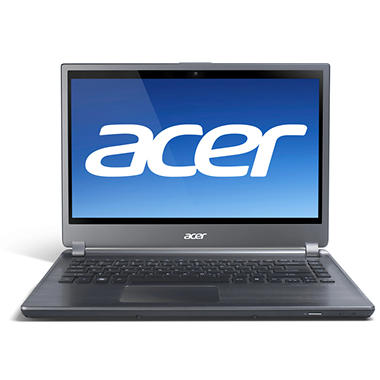 Acer® Aspire TimelineU M5 Laptop Intel® Core™ i5-3317U, 500GB/20GB SSD, 14""