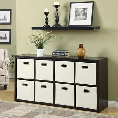 Eight Cube Room Organizer