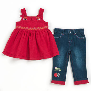 Girls 2-Piece Capri Set