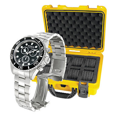 Invicta Pro Diver Sport Watch with Collector's Case