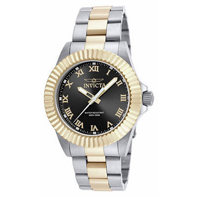 Invicta Men's Pro Diver Watch With Black Face