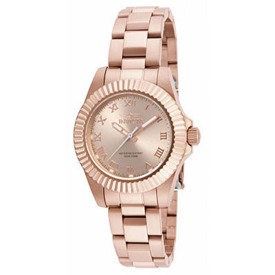 Invicta Ladies Pro Diver Watch in Rose Gold Tone