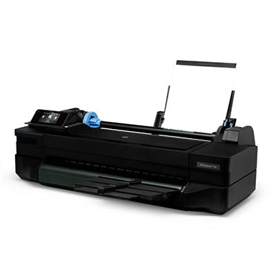 "HP - Designjet T120 Wireless 24"" Wide Format Inkjet ePrinter"