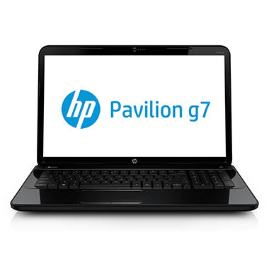 HP Pavilion g7-2217cl Laptop Computer, AMD A6-4400M, 4GB Memory, 640GB Hard Drive, 17.3