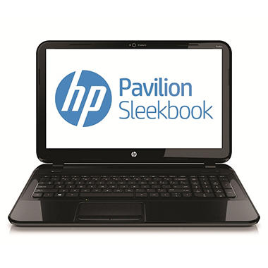 "HP Pavilion 14-b017cl Sleekbook Laptop, Intel® Core™ i5-3317U, 6GB RAM, 500GB HD, 14"" - Black"