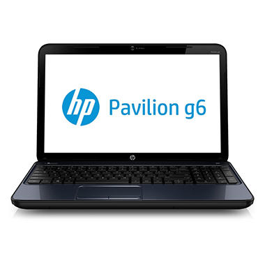 "HP Pavilion g6-2217cl 15.6"" Laptop Computer, AMD Quad-Core A8-4500M, 6GB Memory, 750GB Hard Drive"