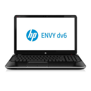 HP Envy dv6-7267cl Laptop Computer, Intel Core i7-3630QM, 6GB Memory, 750GB Hard Drive, 15.6