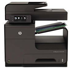 HP - Officejet Pro X476dn Multifunction Color Inkjet Printer -  Copy/Fax/Print/Scan
